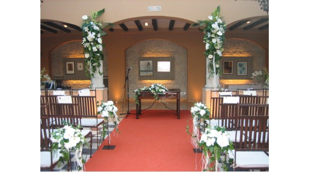 Ceremonias civiles allium floristas - Adornos boda civil ...